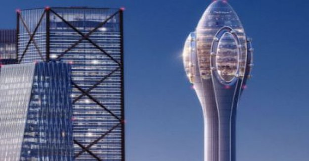 Norman Foster wants to plant a 'tulip' of 305 meters in London