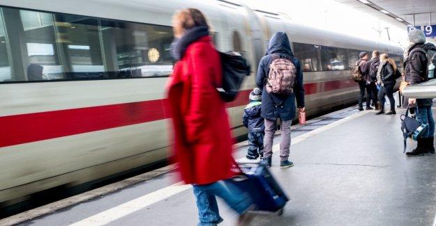 A nationwide rail strike on Monday morning