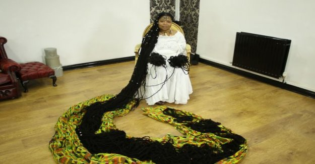 Ashalla is the world's longest dreadlocks - see the incredible pictures