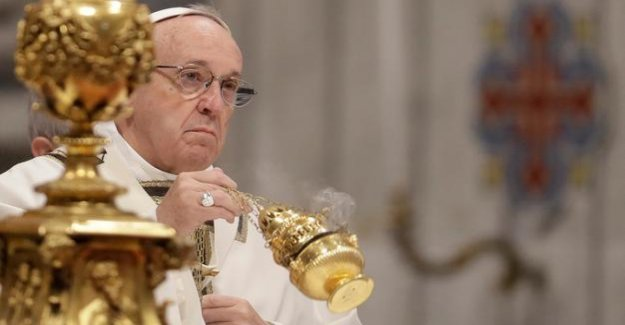 Catholic Church : Pope Francis called homosexuality a fashion