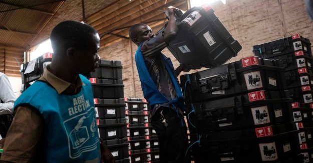 Chaotic elections approaching in Congo Kinshasa