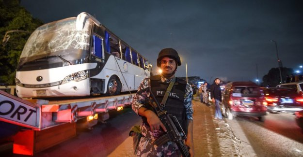 Egypt's police after bussdådet: We have killed 40 terrorists