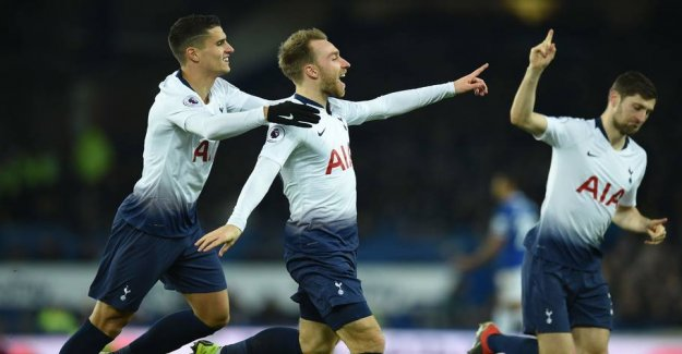 Eriksen and Kane will keep the pressure on City and Liverpool