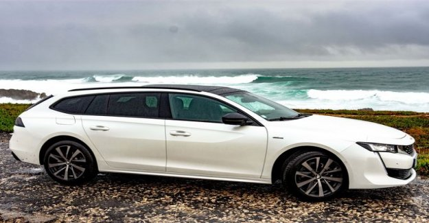 First test drive of Peugeot 508 SW: Racy French got the sense aft