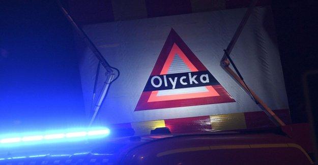 Götaälvbron was closed after head-on collision