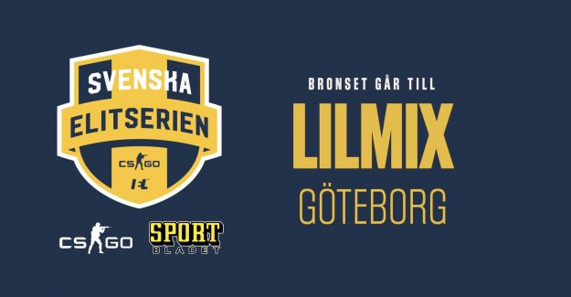 Göteborgslaget win the bronze medal in the elite in CSGO