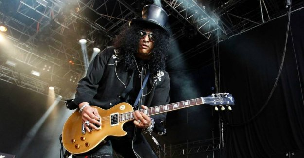 High in the hat: Rocklegende to Denmark