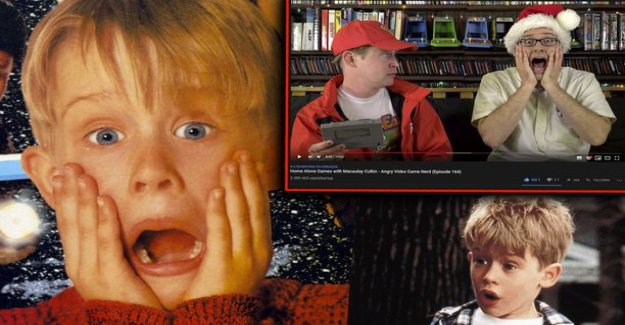 Home alone star Macaulay Culkin was forced to play him made lame games - I don't think I'd get here never over