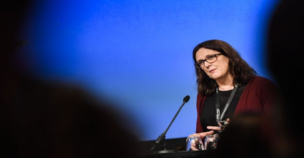 Malmström: I'm finished with politics