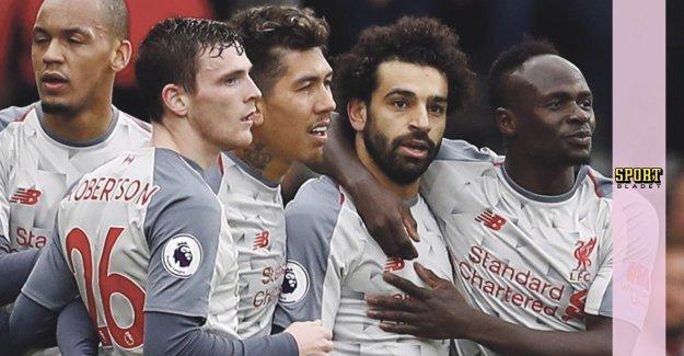 Salahs målshow when Liverpool won by far