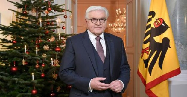 Steinmeier: lack of a voice means a standstill