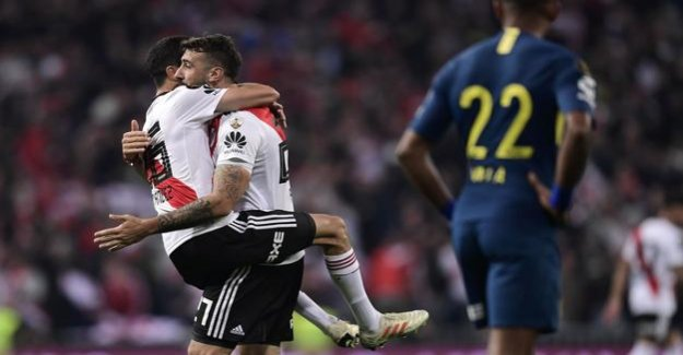 The final in Madrid against Boca Juniors : River Plate win Copa Libertadores with 3:1