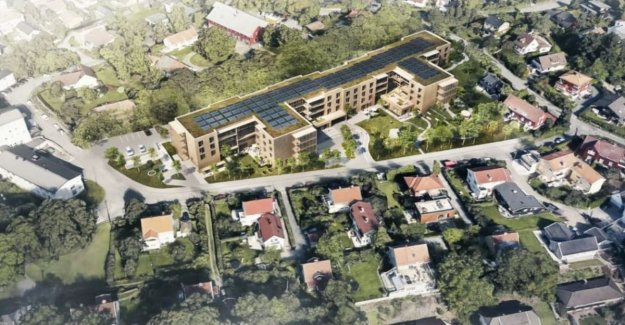 The neighbors won the World's most eco-friendly nursing home, stopped