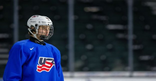 USA published his team's youth world championships - with the NHL-the legend of the boy and the true super talent