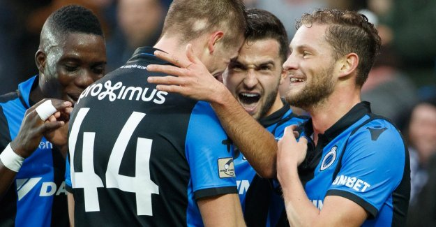 VIDEO. 5-1! Club Brugge makes a statement and treats the weak Antwerp on beating