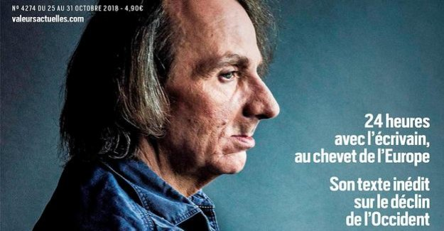 Writer celebrates US President : Trump is, for Houellebecq, the useful Idiot