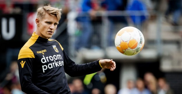 Ødegaard scored in the third match in a row