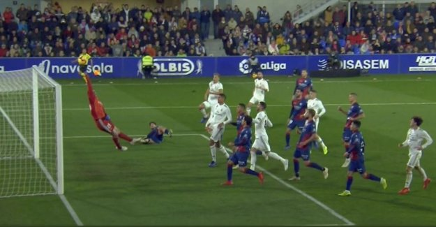 't Is that of Courtois in goal stood, or Real had not won at red lantern: goalkeeper scores with new clean sheet points