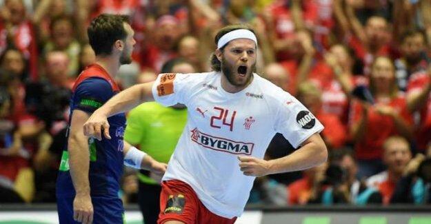 98e3e9a5f 31:22 in the final against Norway : Mikkel Hansen of Denmark men ...