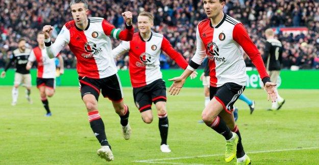 6-2! Ajax will take care of Feyenoord, De Kuip is dancing as usual