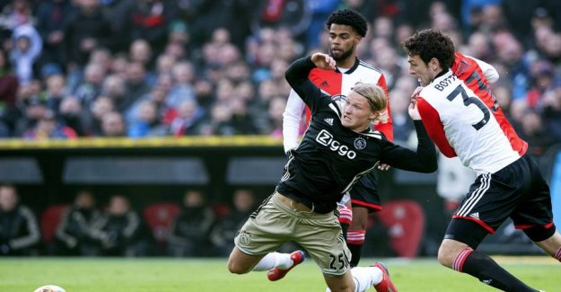 Ajax-the danes in the embarrassing debacle to ærkerivaler