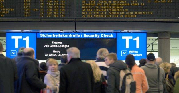 All-day warning strike hits air travellers in Stuttgart, Düsseldorf and Köln/Bonn