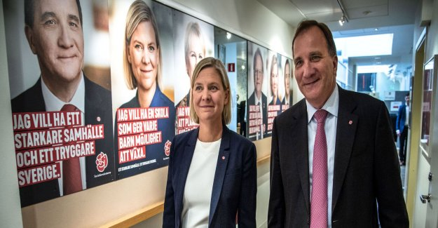 Annie Lööf may never determine the S-policy