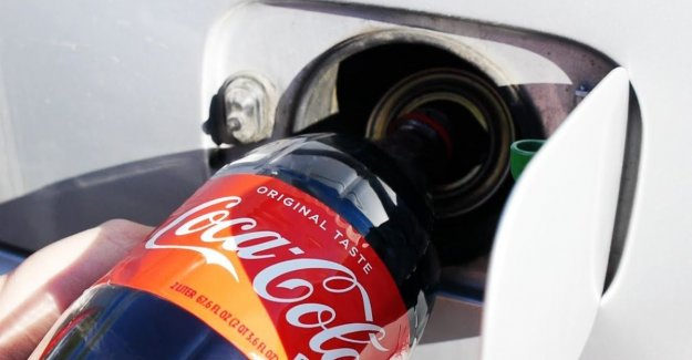 As far a car with a liter of coke in the tank