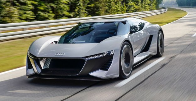 Audi to build 50 units of this electric supersportwagen