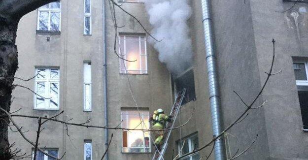 Berlin-Kreuzberg : apartment fire in Lausitzer Straße deleted