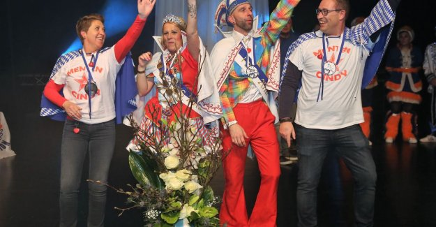 CARNIVAL HALLE: Prince Peter and Princess Cindy will reign over Carnival Halle 2019
