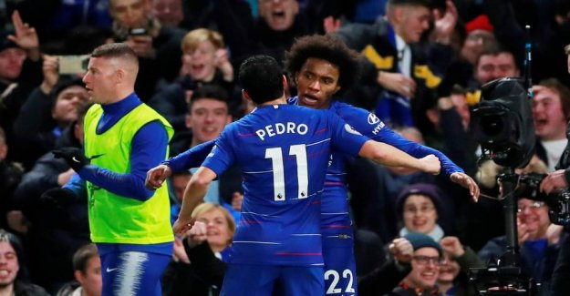 Chelsea keeps the string at the top with victory
