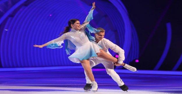 Dancing on Ice: Saara Aalto and Hamish Gama pudotusuhan below - to reproduce the X Factor history?