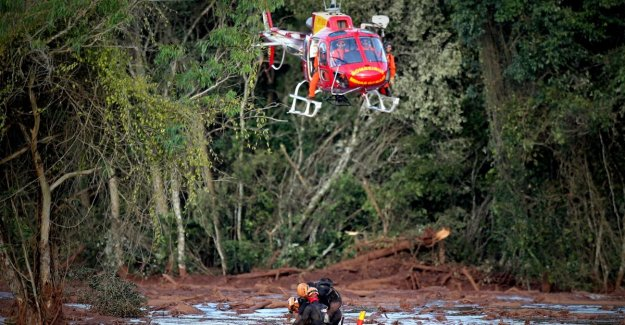 Death toll after dambreuk in Brazil amounted to 58