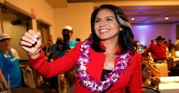 Democrat Gabbard wants to run in 2020 against Trump