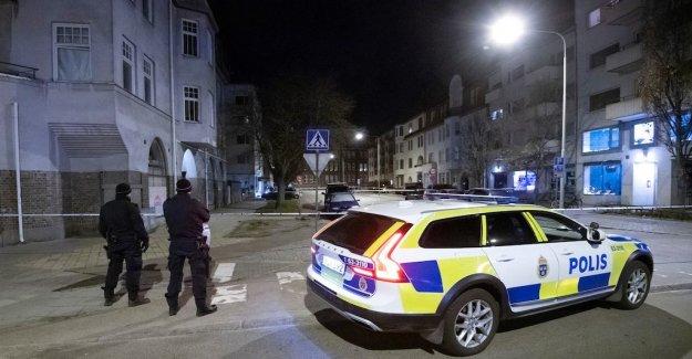 Detonation at the residential buildings in Landskrona, sweden