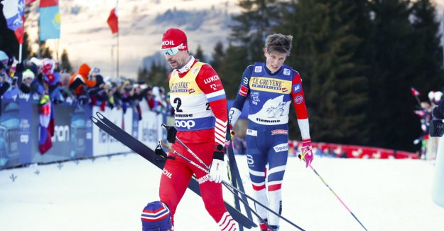 Failed in Moscow: - Russian did not get the same chance as Johaug