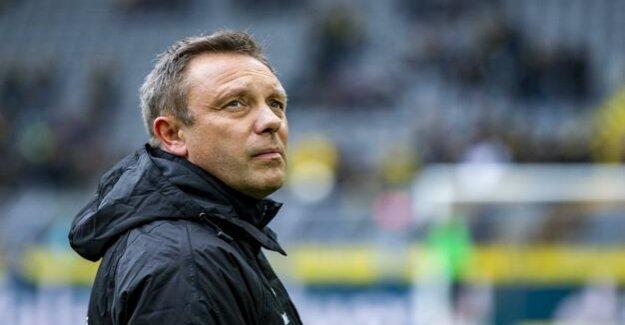 Football-Bundesliga : Hannover 96 dismisses André width riders