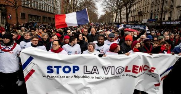 France: Rotschals to demonstrate against violence