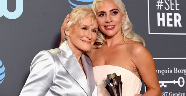 Glenn Close and Lady Gaga share the Critics' Choice Award due to a tie (and they were not the only ones this happened to)
