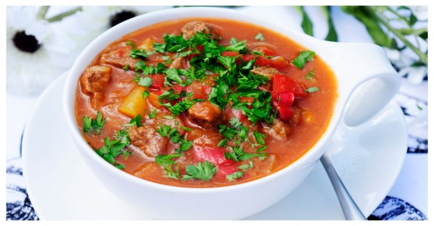 Goulash soup – warming and good