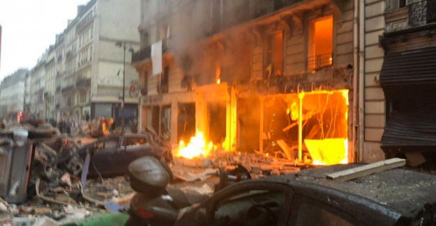 Heavy gas explosion in a bakery in Paris: three people dead, including a Spanish tourist, ten are seriously injured
