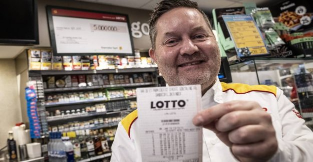 Here are Denmark's two luckiest lotto towns and cities: - It is very, very rarely