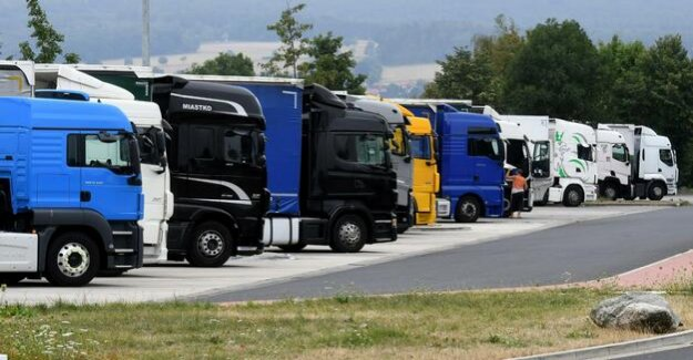 Hesse : police evacuated dozens of drunk Truck driver from the transport