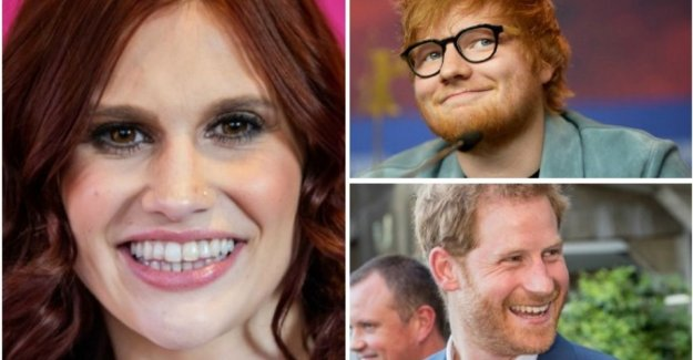 'Kiss A Ginger Day': this red-light BV's and celebs deserve a kiss today