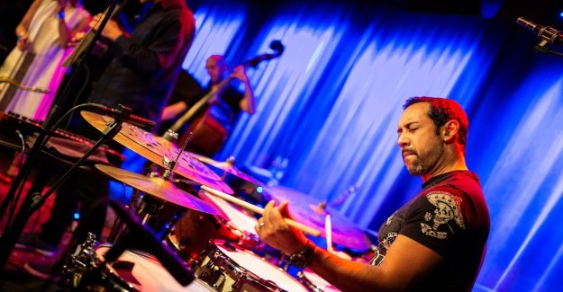 Konsertrecension: Antonio Sanchez, is a little too low in his own band