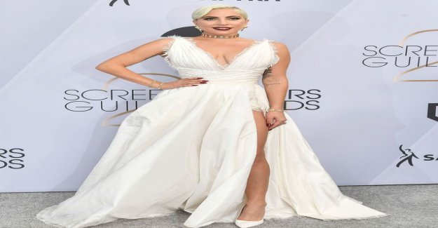 Lady Gaga rocked my world for a huge crack to be the SAG Awards – as Marilyn Monroe