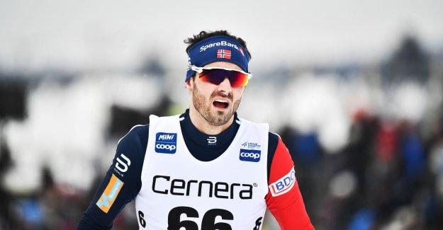 Leaden Norwegian relay:- I ruined it for the team