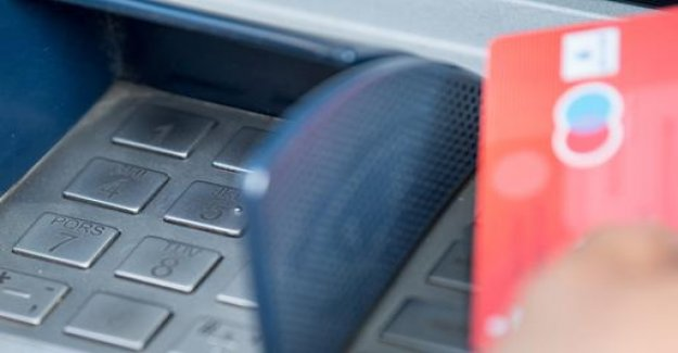 Less Data thefts at ATMs - damage to record low