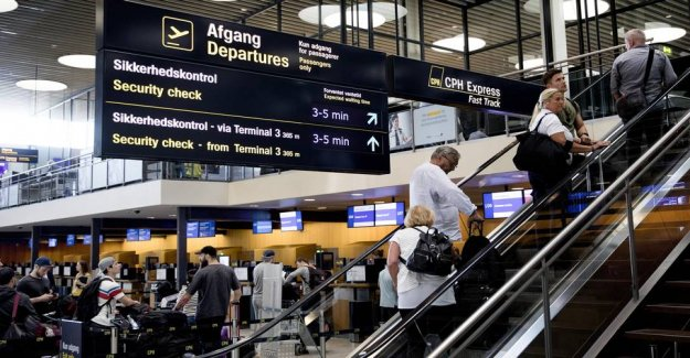 Lithuanian created terrorfrygt in the airport: just Wanted to home
